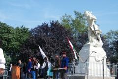 2. Honvédszobor emlékmű