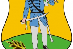 40. Isaszeg címere zászlója