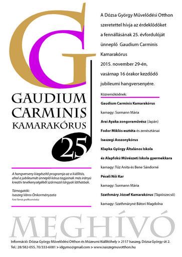 Gaudium Carminis A4