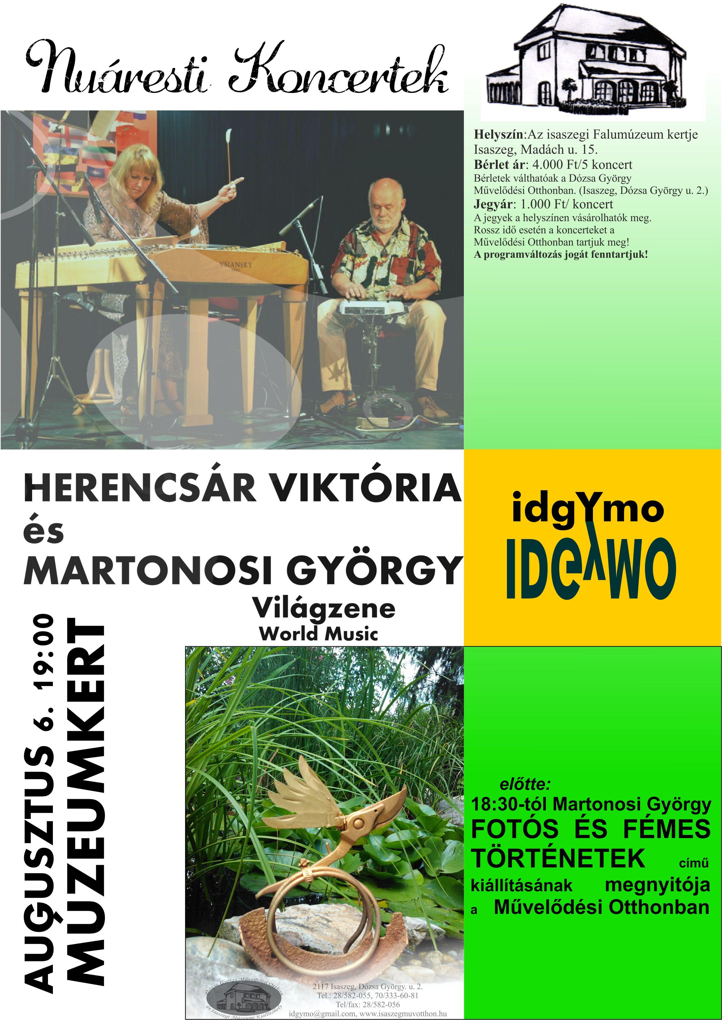 Herencsár_Martonosi_Nyáresti koncertek_aug6