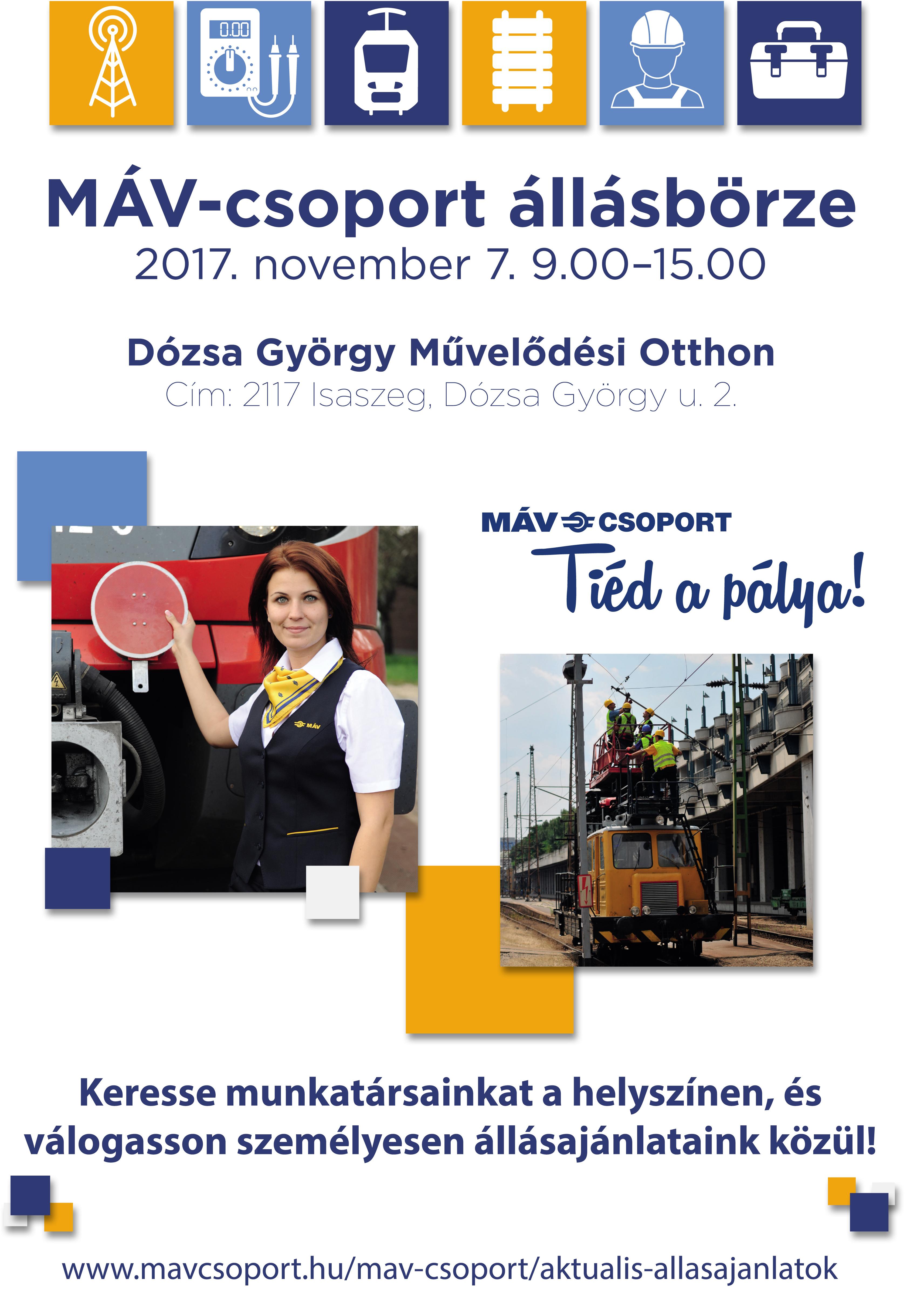 MÁV-csoport állásbörze