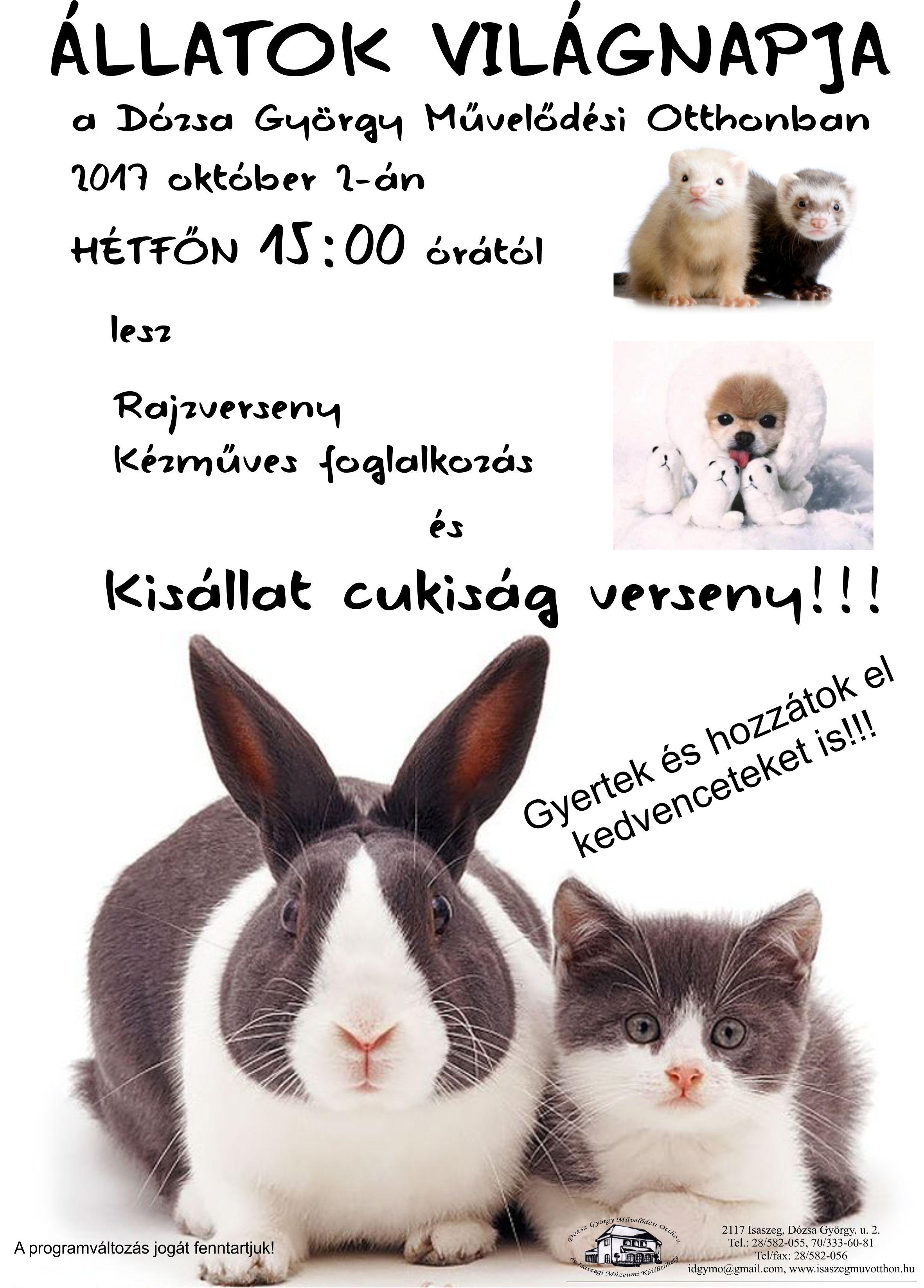 Állatok világnapja