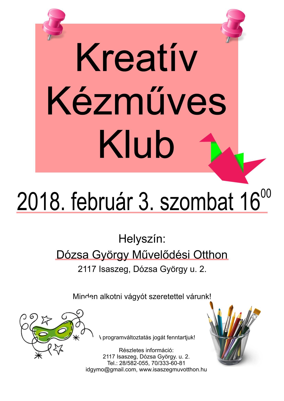 Kreatív Kézműves Klub