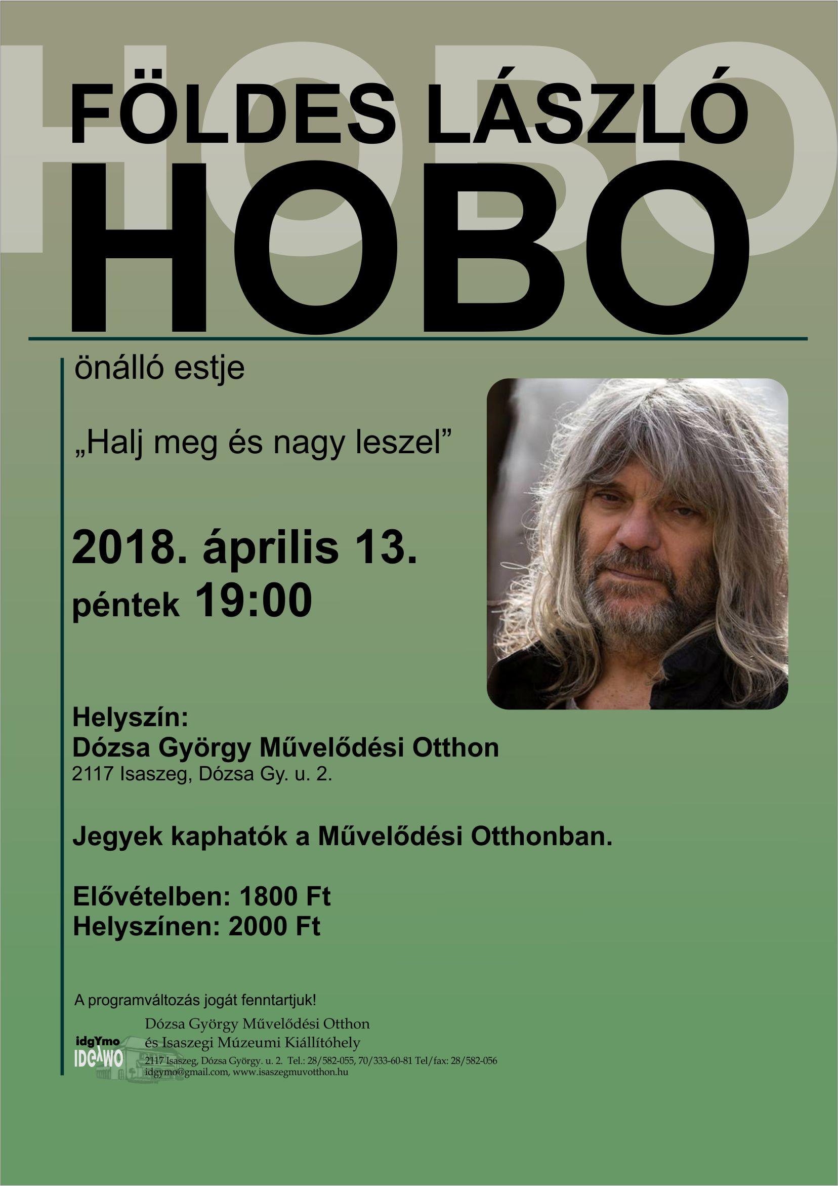 Földes László HOBO