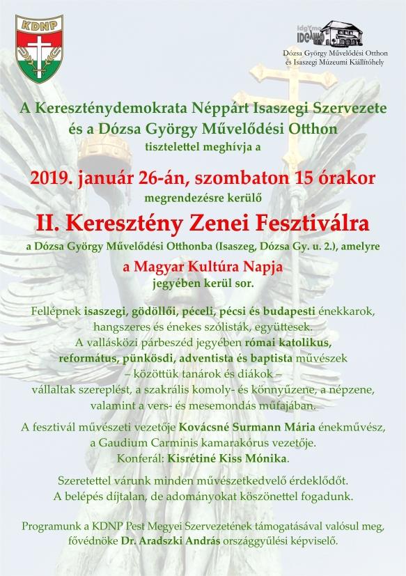 II. Keresztény Zenei Fesztivál