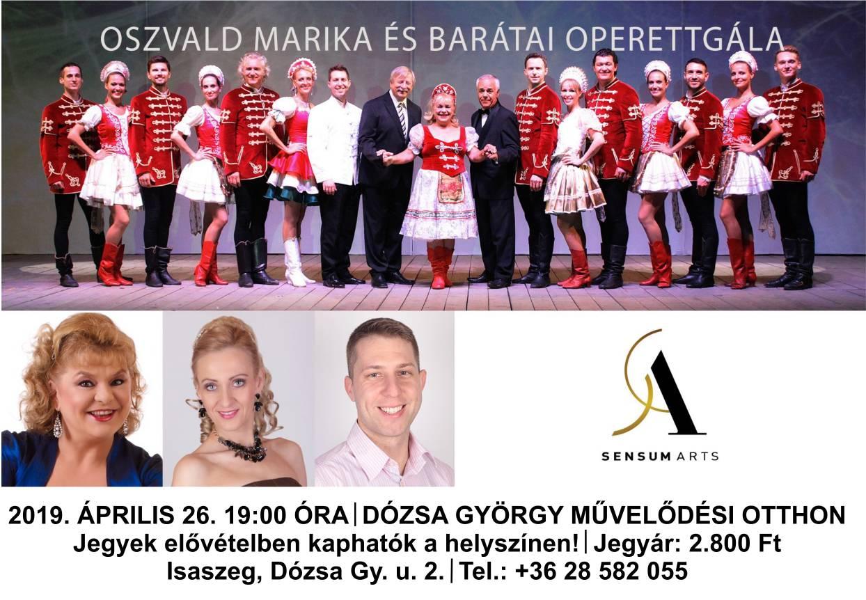 Oszvald Marika és barátai Operett gála