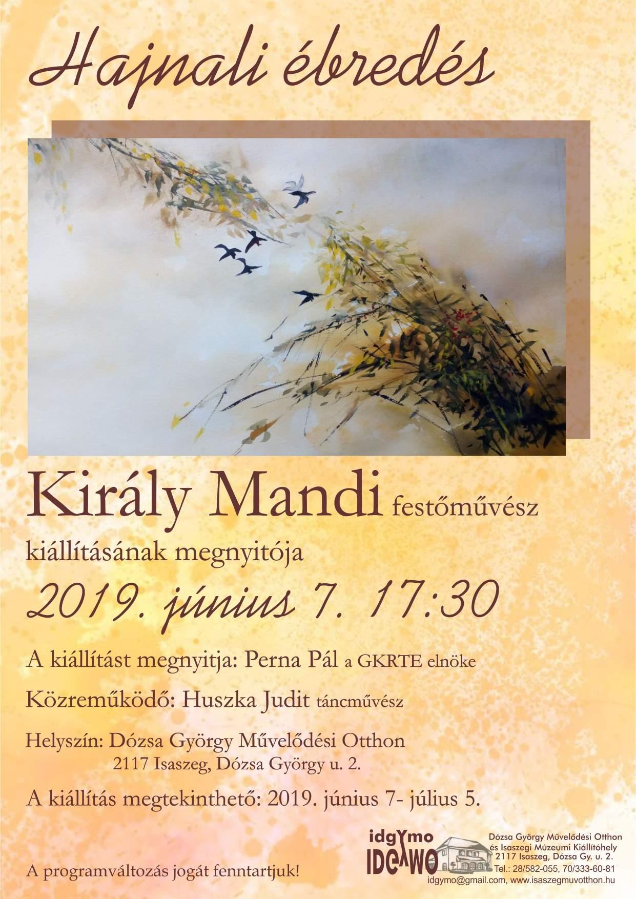 Király Mandi kiállítása