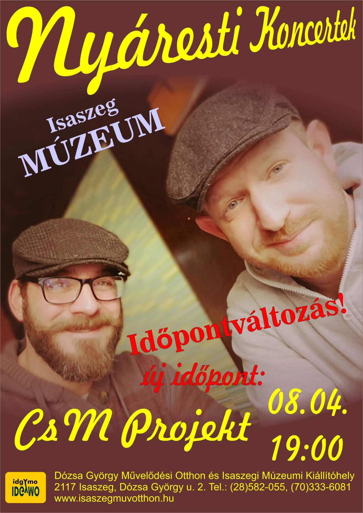 CsM Projekt koncert- Nyáresti koncertek