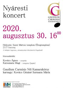 Nyáresti koncert